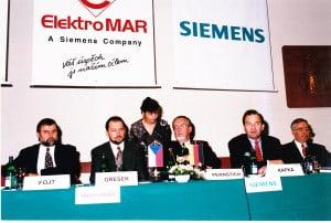 Elektro MAR a Siemens - fůze